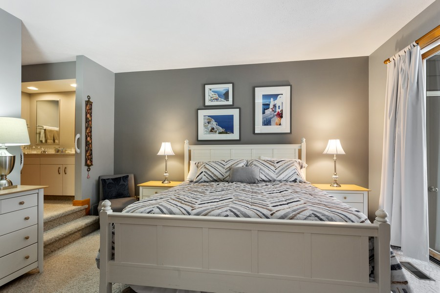 Real Estate Photography - 501 N Whittaker St, Unit 22, New Buffalo, MI, 49117 - Master Bedroom