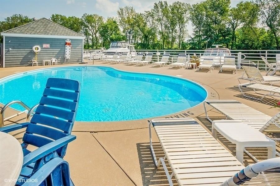 Real Estate Photography - 501 N Whittaker St, Unit 22, New Buffalo, MI, 49117 - Association Pool