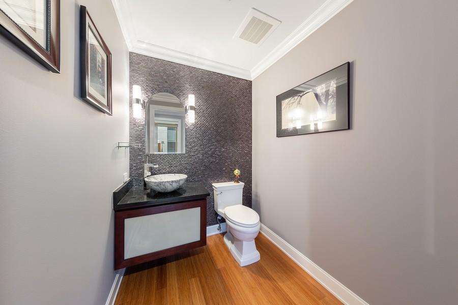 Real Estate Photography - 340 E Randolph St, Unit 2706, Chicago, IL, 60601 - Half Bathroom
