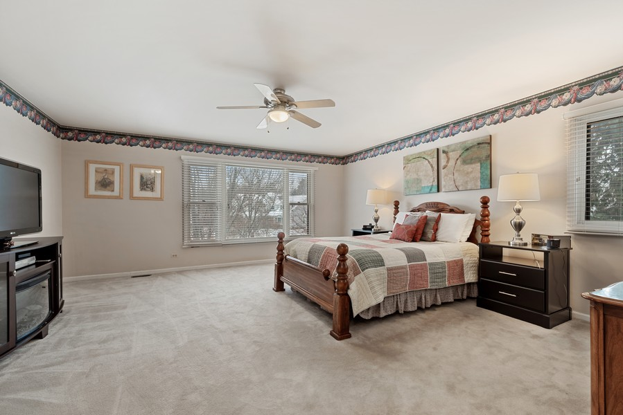 Real Estate Photography - 2775 Sandalwood Ct, Buffalo Grove, IL, 60089 - Master Bedroom