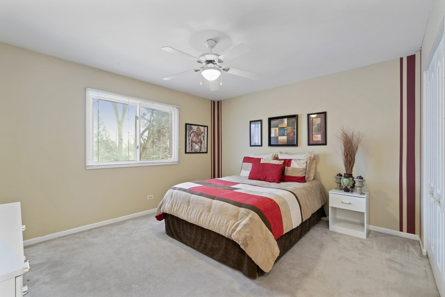 Real Estate Photography - 2775 Sandalwood Ct, Buffalo Grove, IL, 60089 - 3rd Bedroom