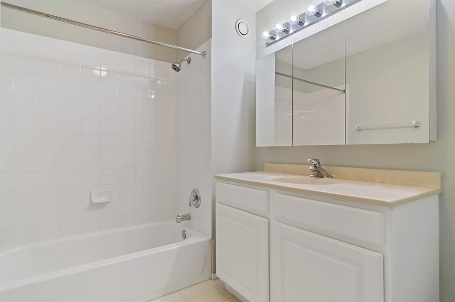 Real Estate Photography - 545 N Dearborn St, Apt 1501, Chicago, IL, 60654 - Master Bathroom