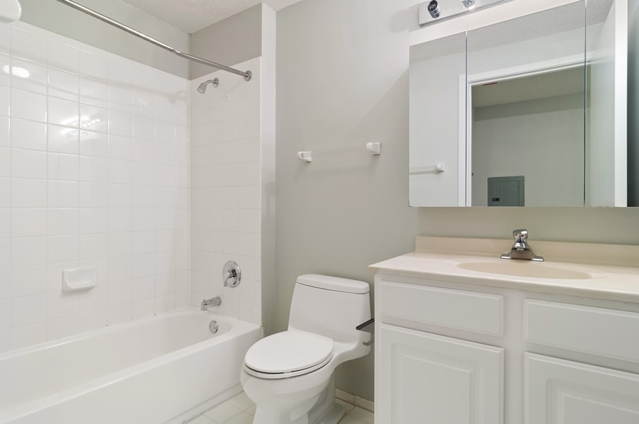 Real Estate Photography - 545 N Dearborn St, Apt 1501, Chicago, IL, 60654 - Bathroom