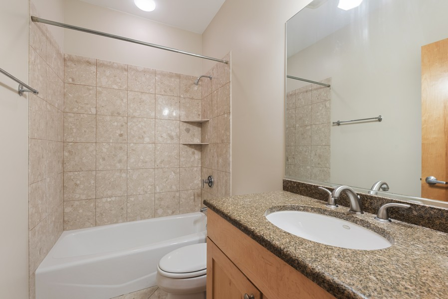 Real Estate Photography - 4003 N Wolcott Ave, Unit D, Chicago, IL, 60613 - 3rd Bathroom