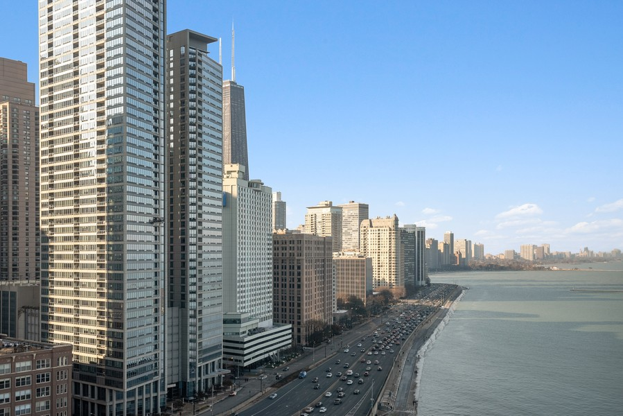 Real Estate Photography - 505 n. lake shore drive, 1802, chicago, IL, 60611 - View