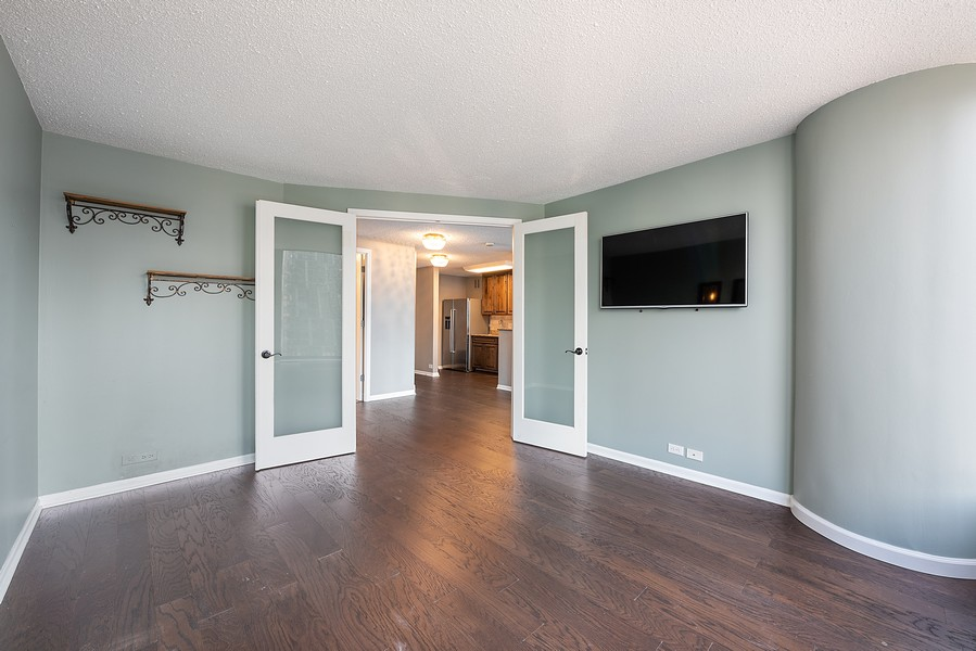 Real Estate Photography - 505 n. lake shore drive, 1802, chicago, IL, 60611 - Master Bedroom