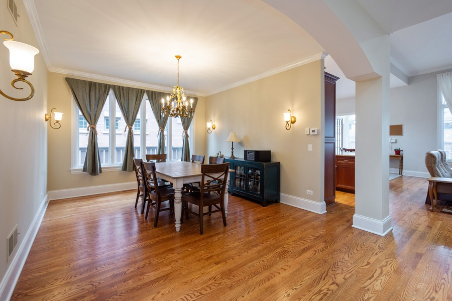 Real Estate Photography - 314 N Dryden Pl, Arlington Heights, IL, 60004 - Dining Room