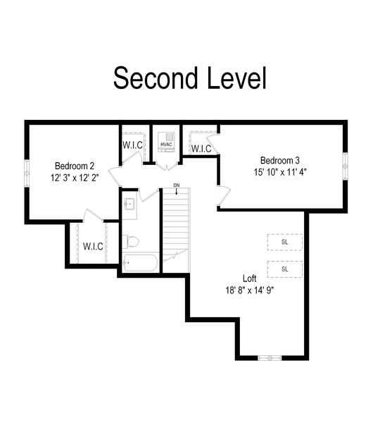 Real Estate Photography - 314 N Dryden Pl, Arlington Heights, IL, 60004 - Floor Plan