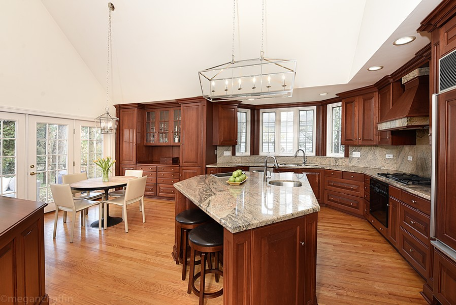 Real Estate Photography - 2126 Thornwood, Wilmette, IL, 60091 - Gorgeous Chef's Kitchen