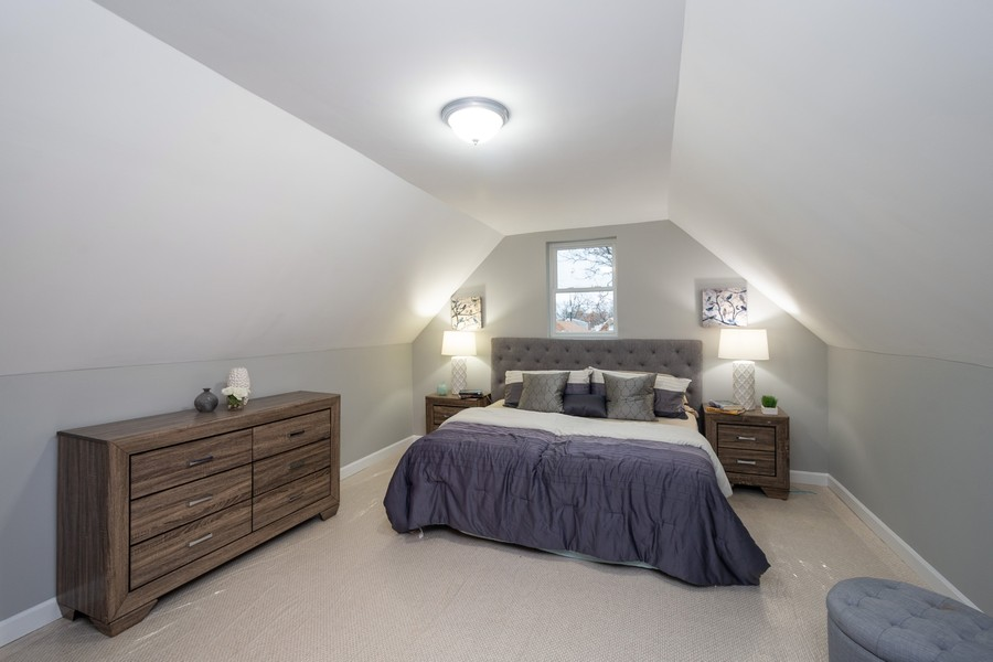 Real Estate Photography - 8044 S Fransisco, Chicago, IL, 60652 - Master Bedroom