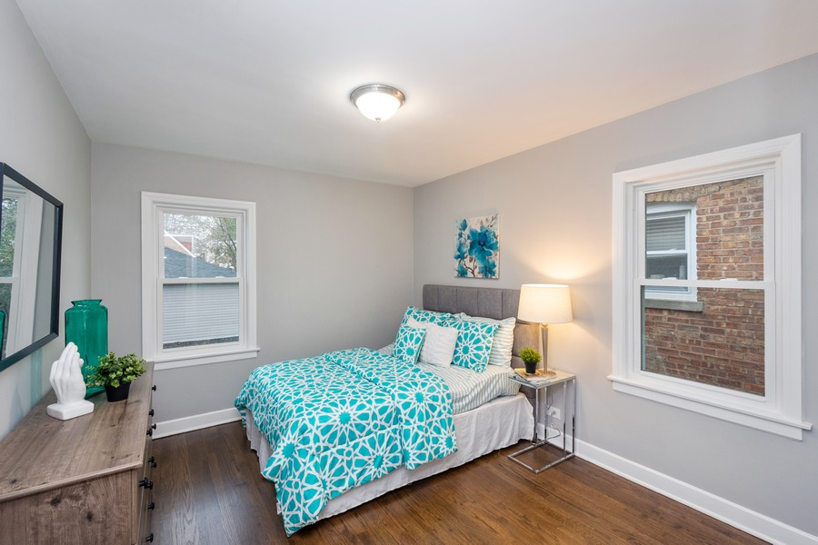 Real Estate Photography - 8044 S Fransisco, Chicago, IL, 60652 - 2nd Bedroom