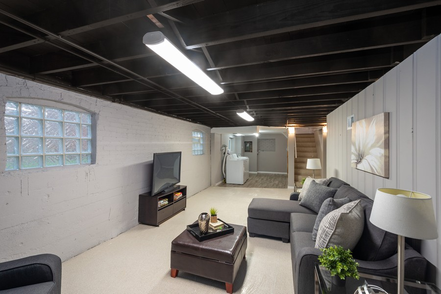 Real Estate Photography - 8044 S Fransisco, Chicago, IL, 60652 - Lower Level