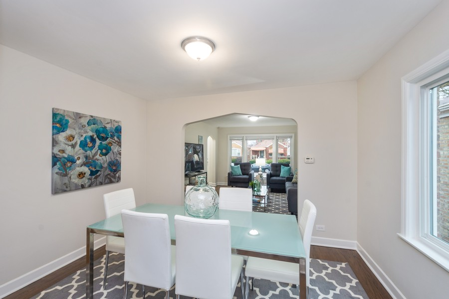 Real Estate Photography - 8044 S Fransisco, Chicago, IL, 60652 - Dining Area