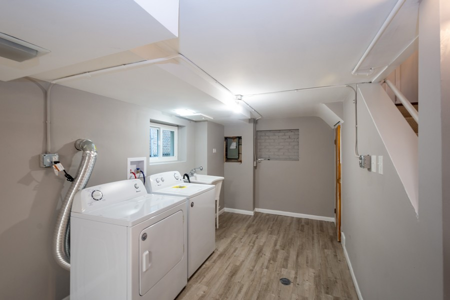Real Estate Photography - 8044 S Fransisco, Chicago, IL, 60652 - Laundry Room