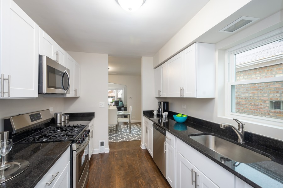 Real Estate Photography - 8044 S Fransisco, Chicago, IL, 60652 - Kitchen