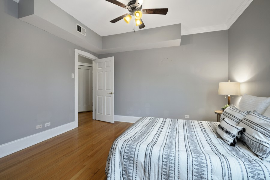 Real Estate Photography - 4922 N. Rockwell, Chicago, IL, 60625 - Master Bedroom 2