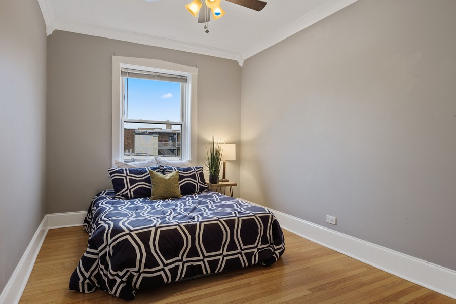 Real Estate Photography - 4922 N. Rockwell, Chicago, IL, 60625 - Bedroom 2