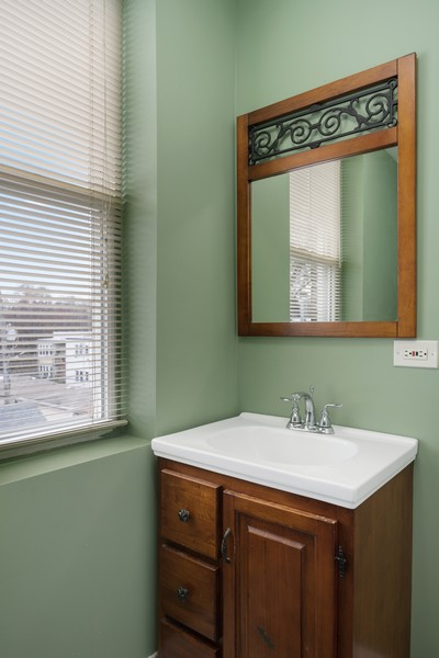 Real Estate Photography - 4922 N. Rockwell, Chicago, IL, 60625 - Bathroom 2