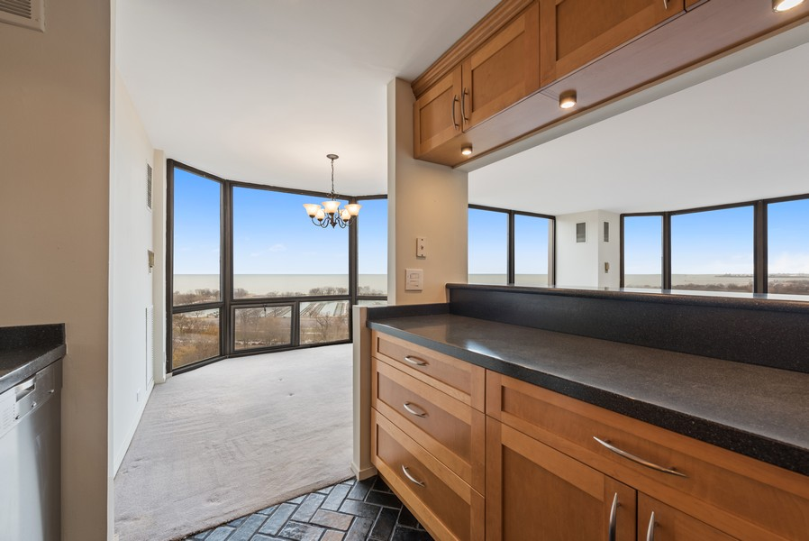 Real Estate Photography - 2650 N Lakeview Ave, Apt 1710, Chicago, IL, 60614 - Kitchen