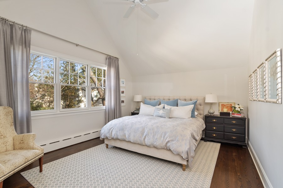 Real Estate Photography - 475 Orchard Lane, Winnetka, IL, 60093 - Master Bedroom