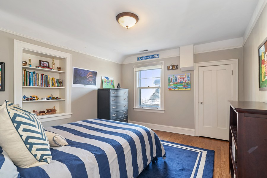 Real Estate Photography - 475 Orchard Lane, Winnetka, IL, 60093 - 2nd Bedroom