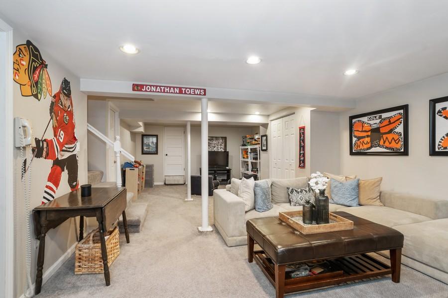 Real Estate Photography - 475 Orchard Lane, Winnetka, IL, 60093 - Basement