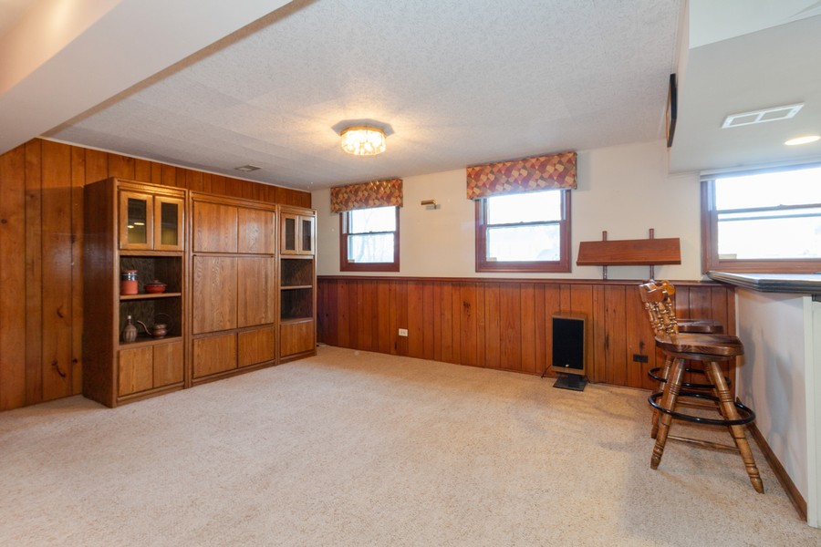 Real Estate Photography - 1565 Almond, Downers Grove, IL, 60515 - Basement