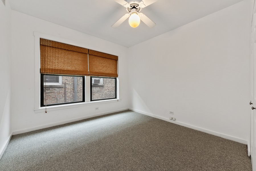 Real Estate Photography - 3723 N Pine Grove #3N, Chicago, IL, 60613 - 2nd Bedroom