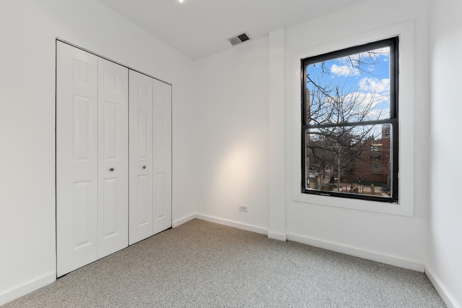 Real Estate Photography - 3723 N Pine Grove #3N, Chicago, IL, 60613 - Office or Future Walk-in Closet off Master Bedroom