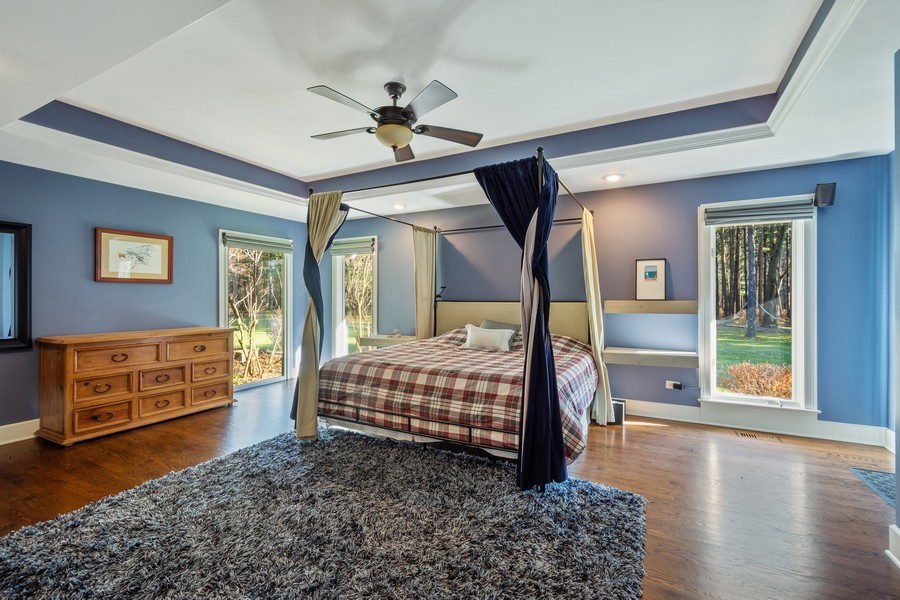 Real Estate Photography - 83 Meadow Hill Rd, Barrington Hills, IL, 60010 - Master Bedroom