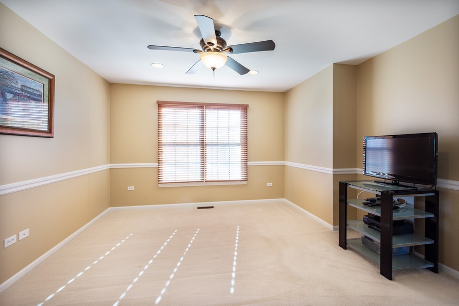 Real Estate Photography - 45 Tournament Dr North, Hawthorn Woods, IL, 60047 - 2nd Bedroom