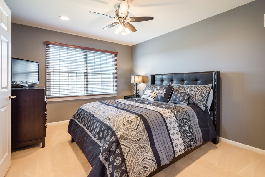 Real Estate Photography - 45 Tournament Dr North, Hawthorn Woods, IL, 60047 - 4th Bedroom