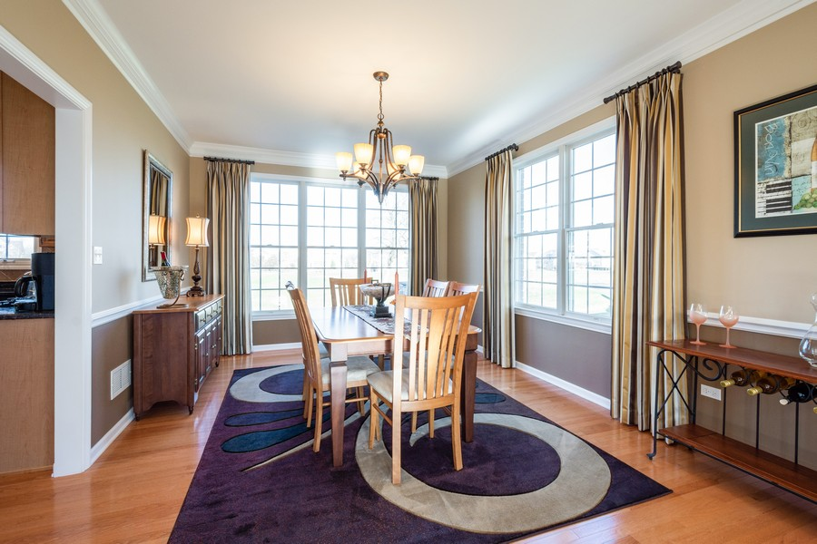 Real Estate Photography - 45 Tournament Dr North, Hawthorn Woods, IL, 60047 - Dining Room