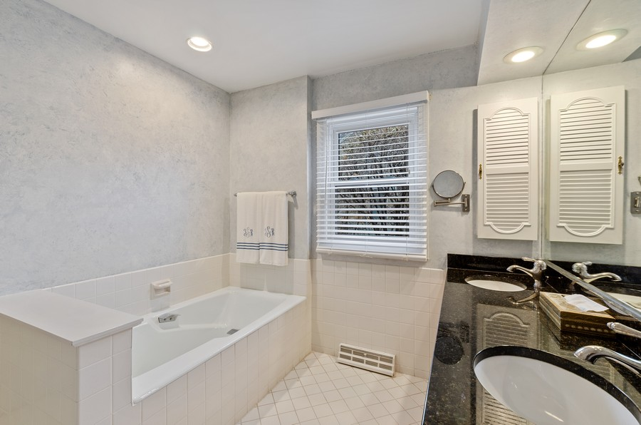 Real Estate Photography - 50 E Mallard Ln, Lake Forest, IL, 60045 - Master Bathroom