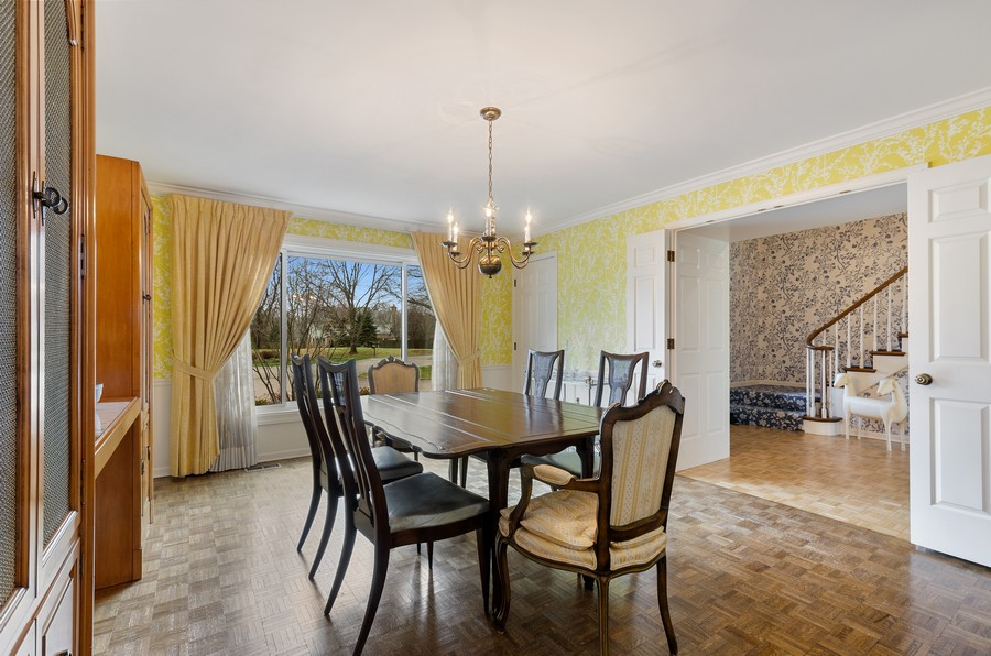 Real Estate Photography - 50 E Mallard Ln, Lake Forest, IL, 60045 - Dining Room