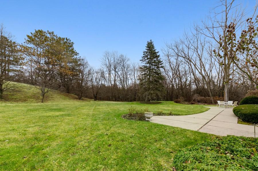 Real Estate Photography - 50 E Mallard Ln, Lake Forest, IL, 60045 - Back Yard