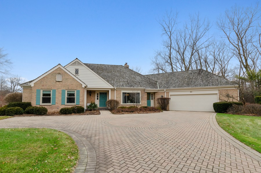 Real Estate Photography - 50 E Mallard Ln, Lake Forest, IL, 60045 - Front View