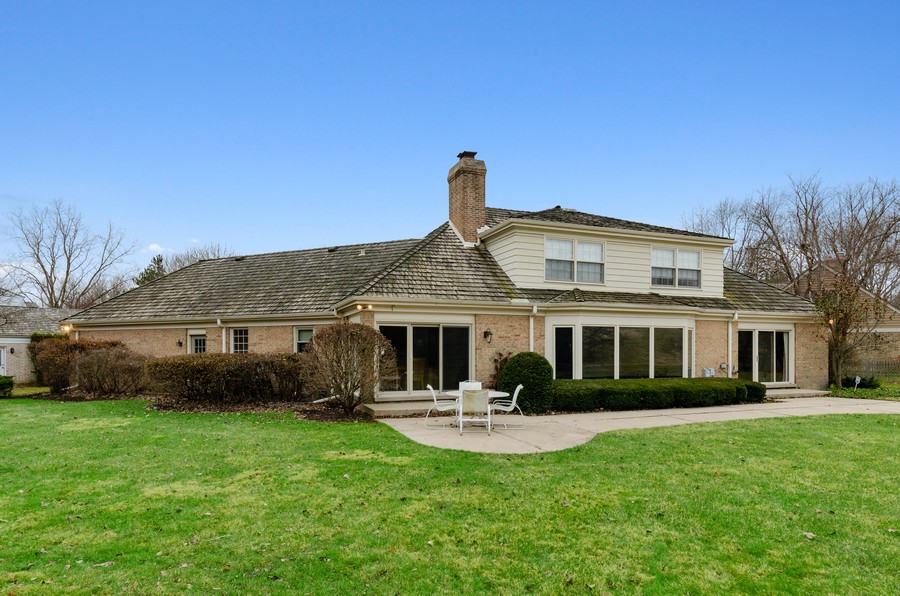 Real Estate Photography - 50 E Mallard Ln, Lake Forest, IL, 60045 - Rear View