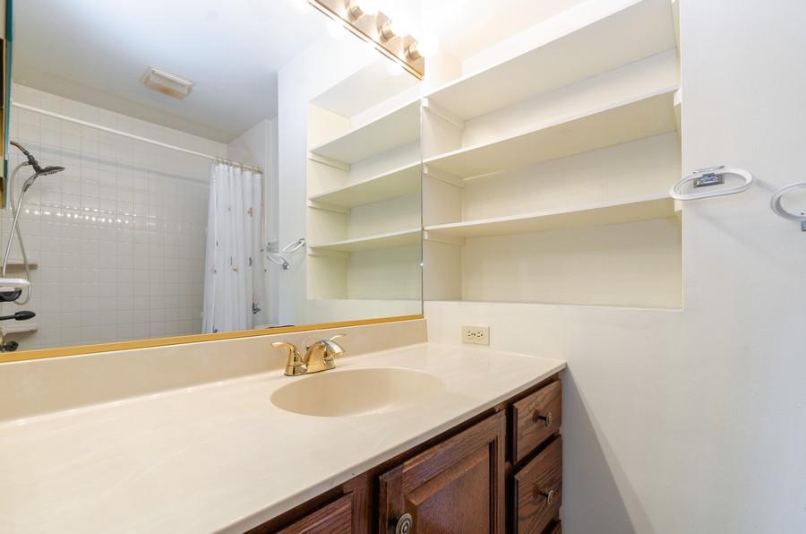 Real Estate Photography - 8146 Oakwood Ave, Munster, IN, 46321 - Master Bathroom