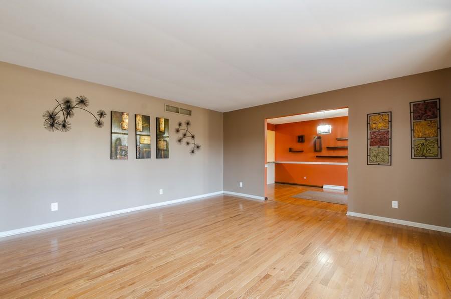 Real Estate Photography - 8146 Oakwood Ave, Munster, IN, 46321 - Living Room