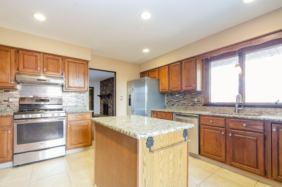 Real Estate Photography - 8146 Oakwood Ave, Munster, IN, 46321 - Kitchen