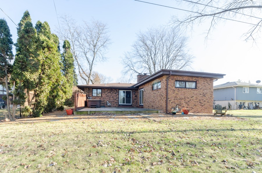 Real Estate Photography - 8146 Oakwood Ave, Munster, IN, 46321 - Rear View