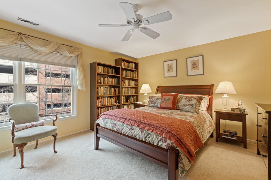 Real Estate Photography - 1730 Hinman Ave, #3G, Evanston, IL, 60201 - Master Bedroom