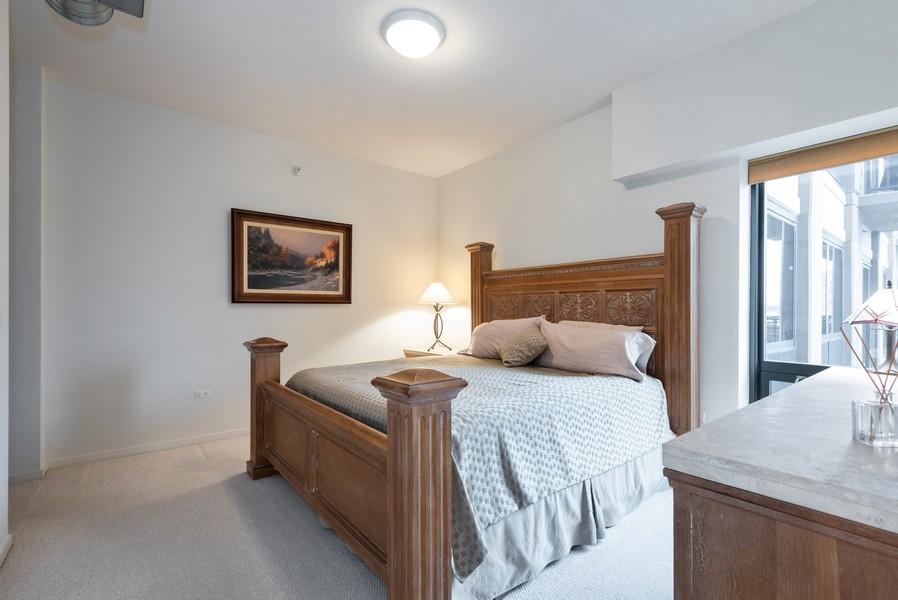 Real Estate Photography - 807 Davis Street, Unit 409, Evanston, IL, 60201 - Master Bedroom