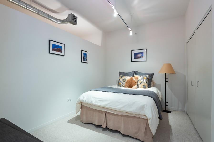 Real Estate Photography - 807 Davis Street, Unit 409, Evanston, IL, 60201 - Bedroom