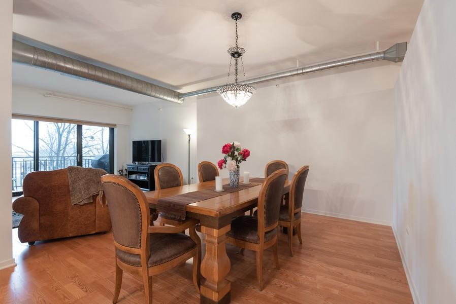 Real Estate Photography - 807 Davis Street, Unit 409, Evanston, IL, 60201 - Dining Room
