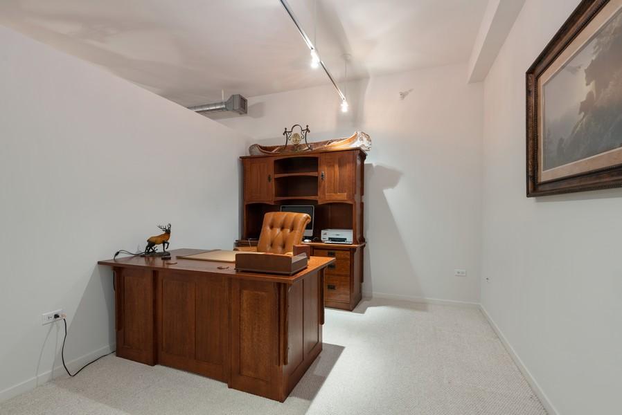 Real Estate Photography - 807 Davis Street, Unit 409, Evanston, IL, 60201 - Office