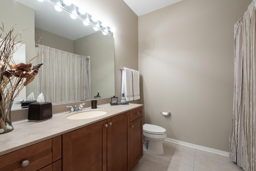 Real Estate Photography - 807 Davis Street, Unit 409, Evanston, IL, 60201 - Bathroom