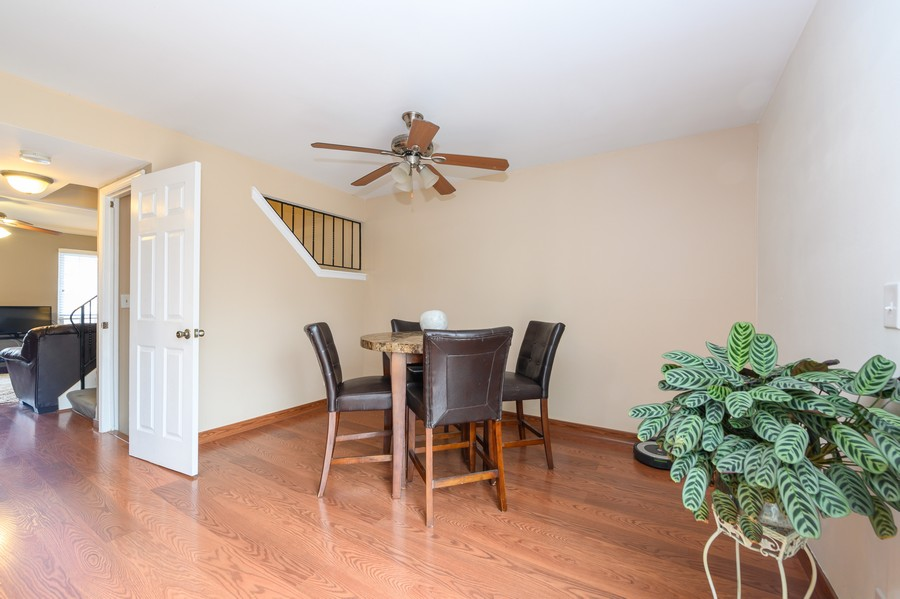 Real Estate Photography - 1345 Northhampton Lane, Roselle, IL, 60172 - Dining Room