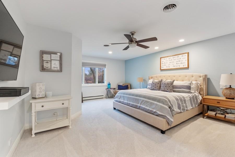 Real Estate Photography - 1136 Skokie Ridge Dr, Glencoe, IL, 60022 - Master Bedroom